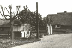 Benzine pomp van de familie Wielink, eind jaren 60.