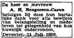 19500711-Huwelijk-Rengersen-Caron