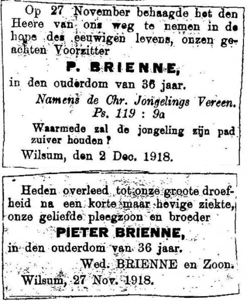 27 november 1918.