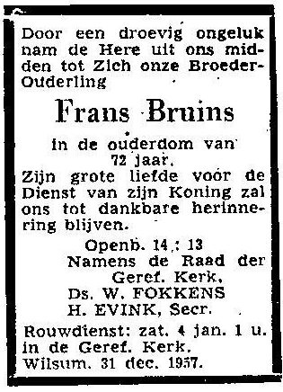 31 december 1957.