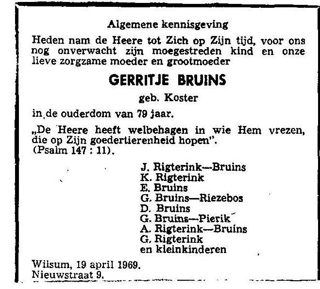 19 april 1969.