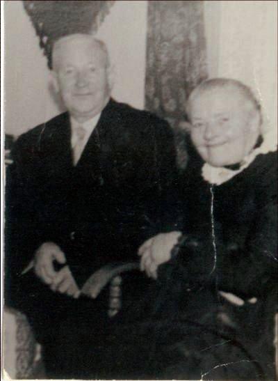Frans Bruins en Gerritje Koster.