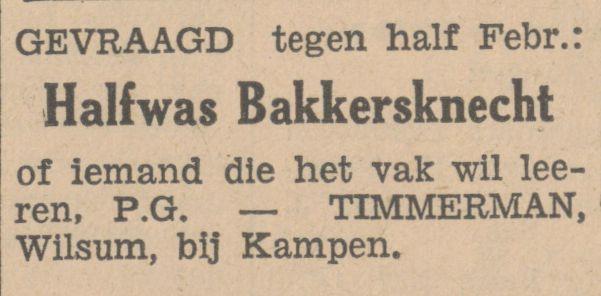 19350115 Bakkersknecht