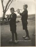 Peter en Evert Jan de Groot 1941