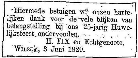 3 juni 1920.