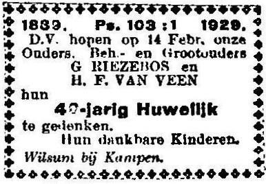 14 februari 1929.