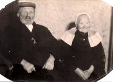 Gerrit Riezebos en Harmina Francina van Veen.