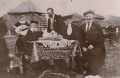 Oranjefeest eind jaren '30.