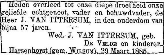 29 maart 1885