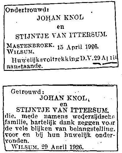 19260429_Knol-x-v-Ittersum_CBG