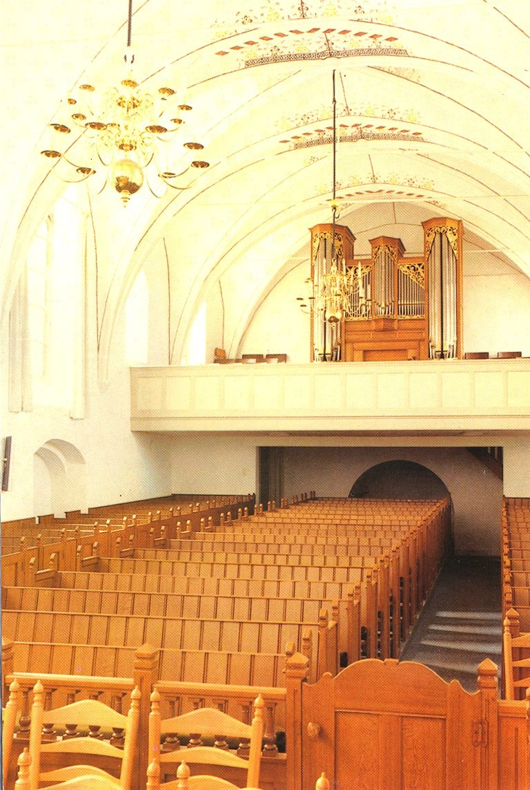 Interieur Herv. kerk, nieuw