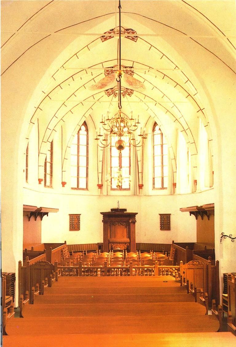 Interieur Hervormde kerk, nieuw
