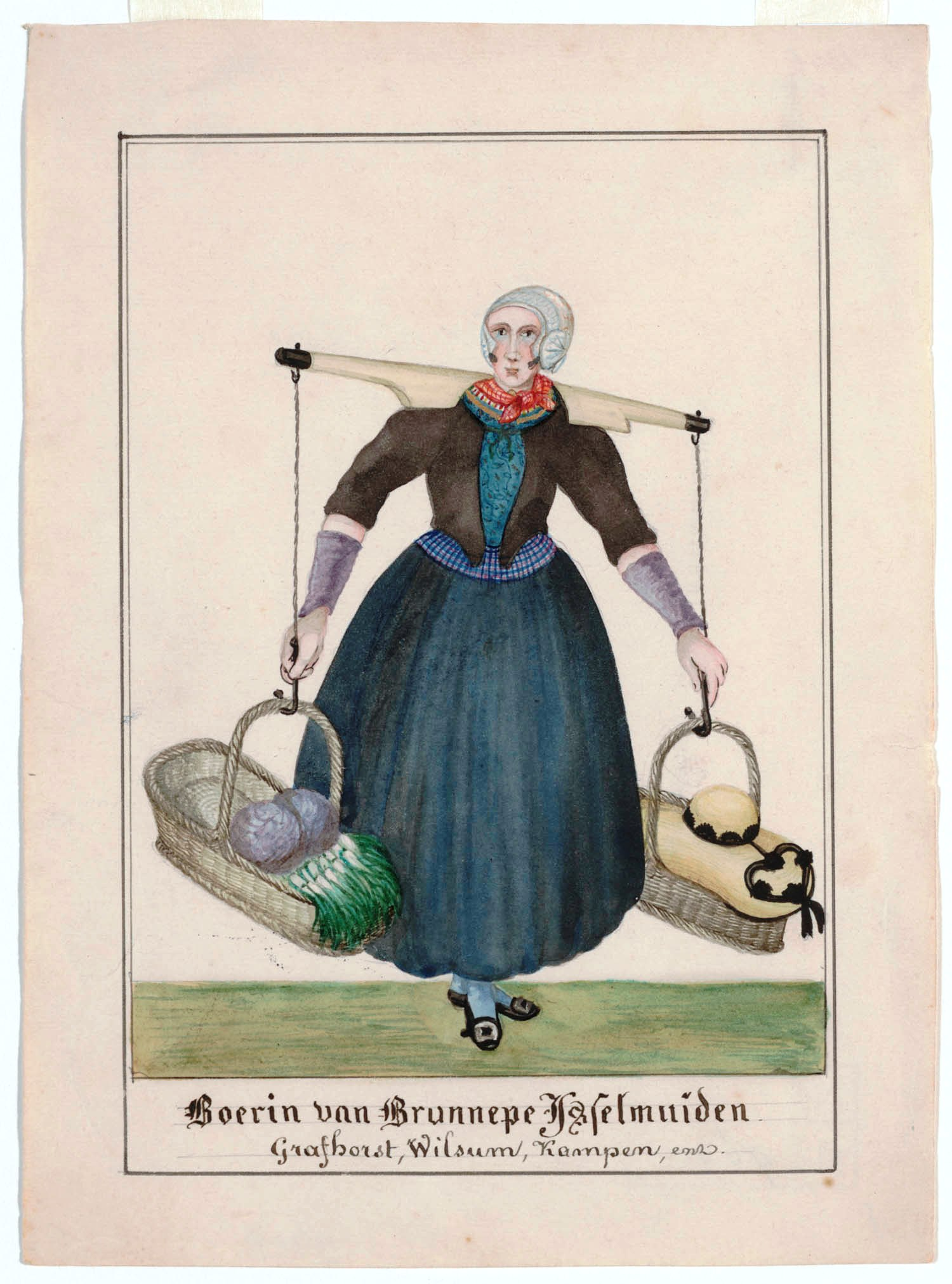 Klederdracht ca. 1842-1864