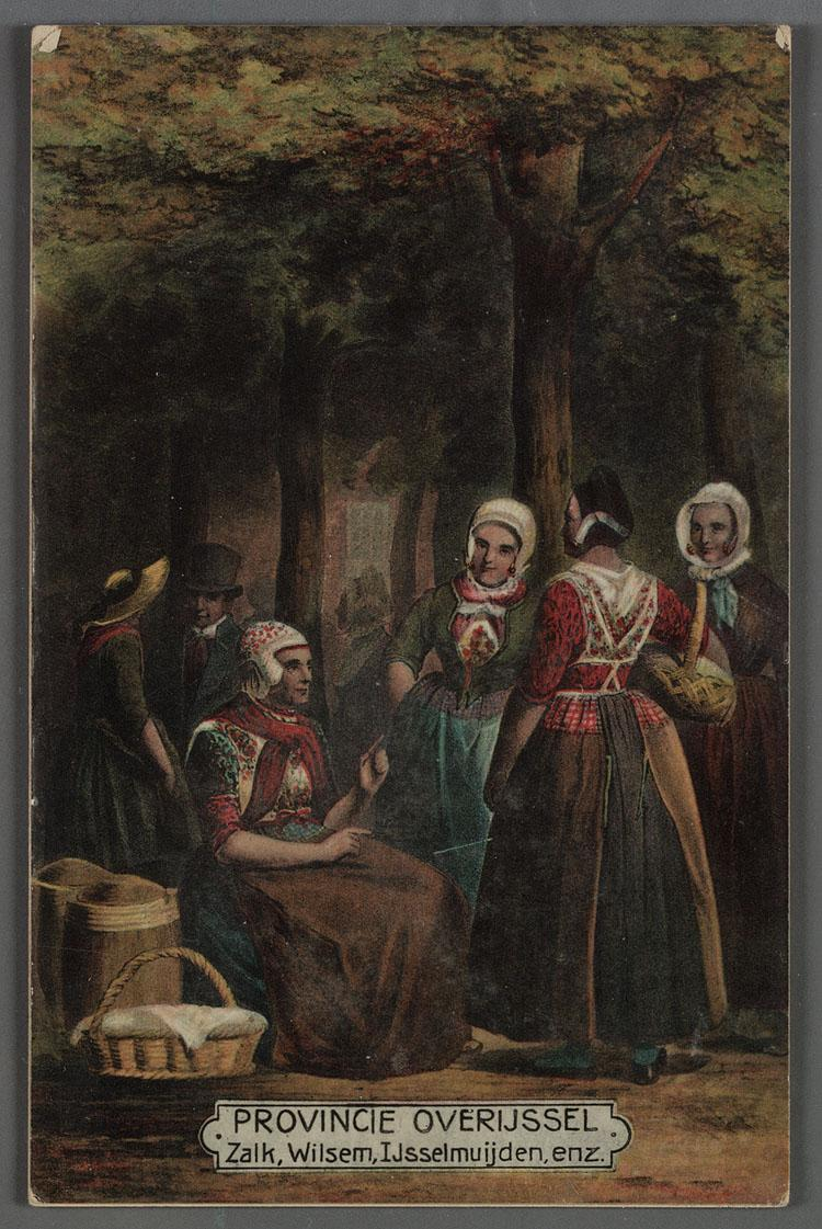Klederdracht ca. 1840-1870.