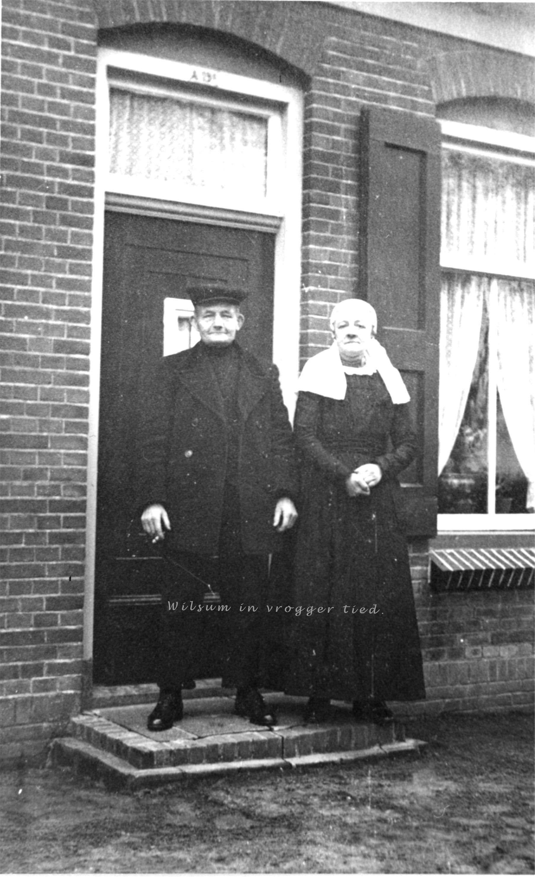 Warner Pap en Elsje Timmerman.
