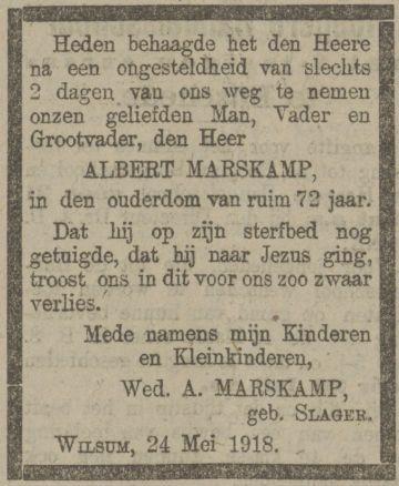 27 mei 1918.