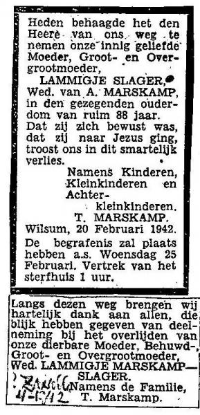 20 februari 1942.
