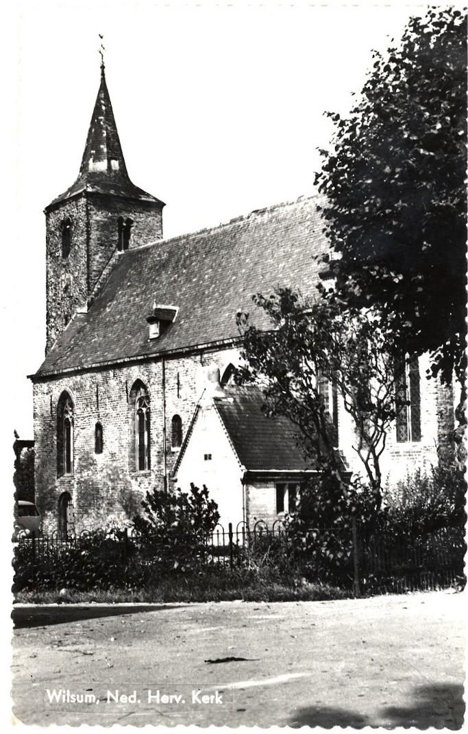 Herv. kerk jaren 60 X