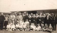 Schoolreisje openbare lagere school ongeveer 1938-1939.