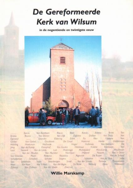 De Gereformeerde Kerk van Wilsum.