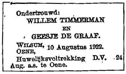 10 augustus 1922.