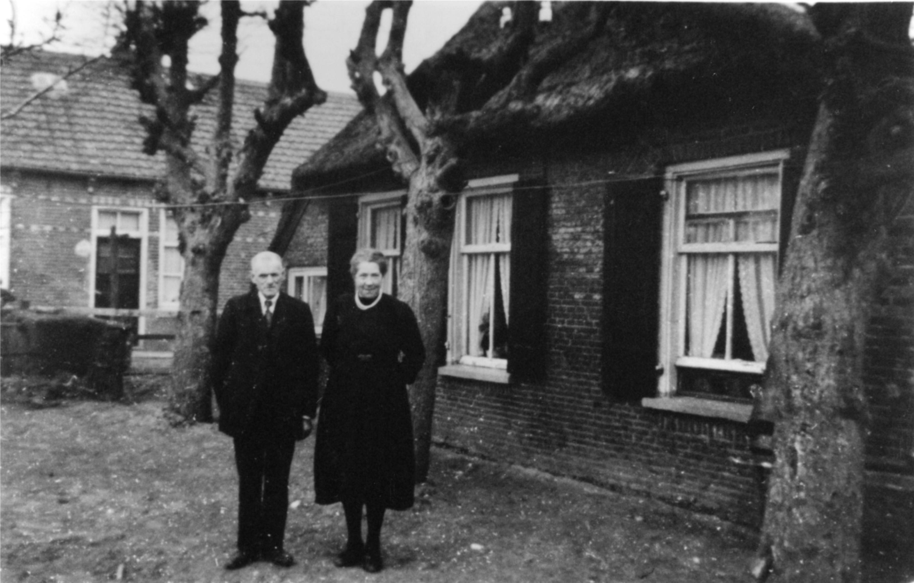 Rijk Hofstede en Evertje van Spijker.