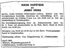 April 1969.