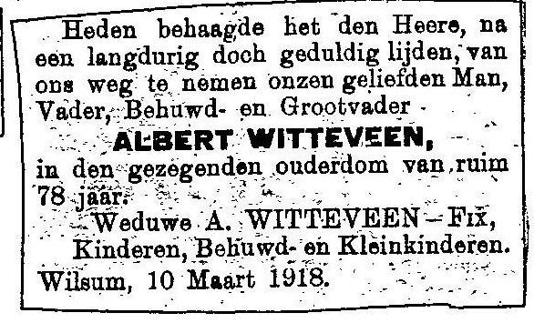 10 maart 1918.