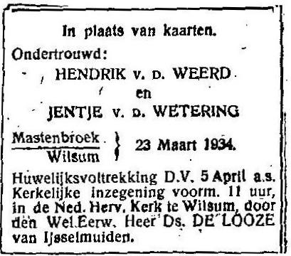 23 maart 1934.
