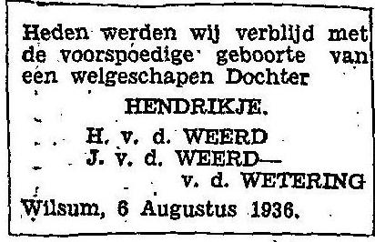 6 augustus 1936.
